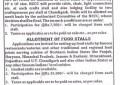 Allotment of Crafts Stalls & Food Stalls