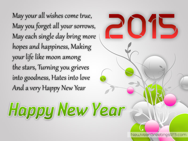 new year wishes photo