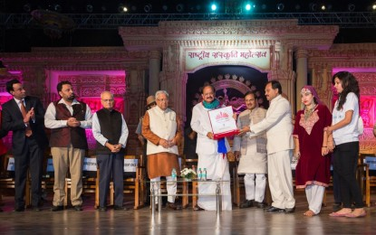 Rashtriya Sanskritik Mahotsav 2015 held at IGNCA, New Delhi From 1st November to 8th November, 2015