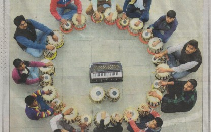 Tabla Classes at Kalagram, Chandigarh