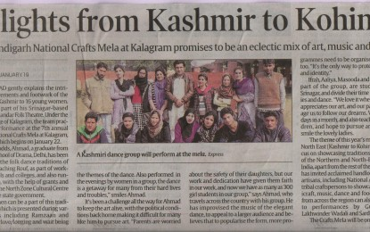 Press Conference held at Kalagram, Chandigarh on 19/01/2016