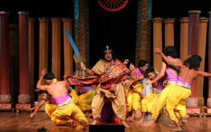 Hindi Play 'Samrat Ashoka' at Kalidasa Auditorium, Virsa Vihar Kendra, Patiala on August 17, 2016