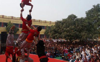 Outreach Programme at Inter College Khonchawa, Varanasi during RSM-2016 Varanasi on 23-12-2016