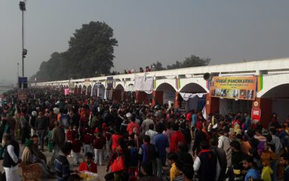 Heavy footfall in Craft Mela organized by NZCC, Patiala during 'International Gita Mahotsav' at Kurukshetra
