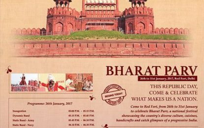 Programme schedule of 'Bharat Parv' to be inaugurated today i.e 26th January, 2017