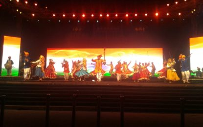 Full dress rehearsal at Lal Qilla for Bharat Parv to be organised from 26th to 31st January 2016.