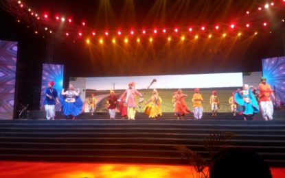 NZCC, Patiala presents cultural performances during 4th day of 'Bharat Parv' at Red Fort