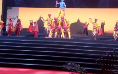 Choreographed performance by NZCC, Patiala during 5th Day of 'Bharat Parv-2017'