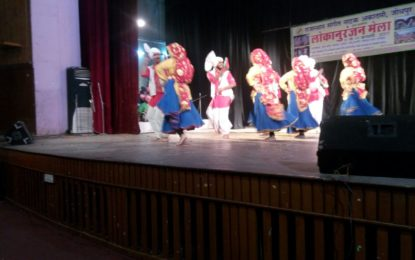 Cultural Performances by NZCC, during 'Lokanuranjan Mela' organised by Rajasthan Sangeet Natak Academy, on 11th&12th Feb, 2017 at Jodhpur