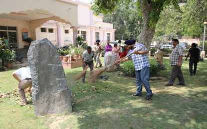 Celebration of Swachhta Pakhwada