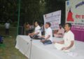 Celebrations of 3rd International Day of Yoga on 21st June, 2017 at Baradari Gardens, Patiala By NZCC