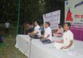 Celebrations of 3rd International Day of Yoga on 21st June, 2017 at Baradari Gardens, Patiala By NZCC