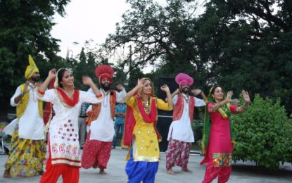 Cultural Presentation by NZCC during Celebration of 71st Independence day at Children Park, Baradari Garden, Patiala