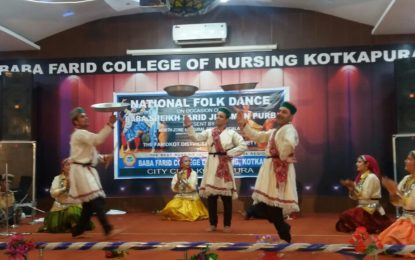 Performances by Artists of NZCC during Baba Sheikh Farid Aagman Purab on 20-9-2017