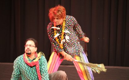 Final day of Norah Richards Theatre Festival organised by NZCC,Patiala.