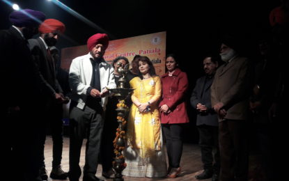 """….Tumsa Nahi Dekha"" – A musical evening organised by NZCC on 30/12/2017 at Kalidasa Auditorium , Virsa Vihar Kender, Patiala."