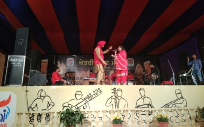 Day-5 (25/02/2018) SARAS Mela- 2018 being organised at Sheesh Mahal, Patiala