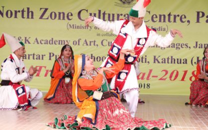 Day 3 (27/02/2018) of Tribal Festival organised by NZCC at Jammu from February 25 to 28, 2018