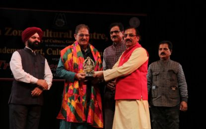 Inauguration of Tribal Festival 2018 on 25/02/2018 at Abhinav Theatre, Canal Road , Jammu