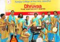 Prof Saubhagya Vardhan, Director NZCC during the presentation of Dhruvaa – the Sanskrit Band on 15th March, 2018 at APJ College Jallandhar.