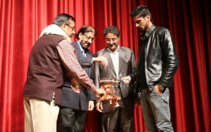 Inaugural day of National Theatre Festival organised by NZCC from March 24 to 26, 2018 at Srinagar.