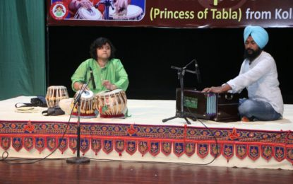 Day 2nd of 'Yuva Sangeet Utsav' being organised by NZCC from May 21 to 23, 2018 at Tagore Theatre, Chandigarh.