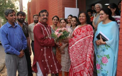 Glimpses of Concluding day of Art Exhibition organised by NZCC from May 13 to 19, 2018 at Kalagram, Chandigarh