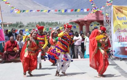 North Zone Cultural Centre, Patiala (Ministry of Culture, Govt. of India) in Collaboration with Sindhu Darshan Yatra Samiti, Delhi organised Sindhu Darshan Festival-2018 at Leh ( J&K). Some glimpses are as under:-