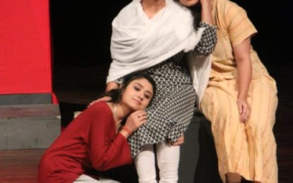 Final day of Jammu and Kashmir Theatre Festival organised by NZCC from June 13 to 15, 2018 at Chandigarh.