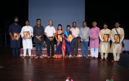 Concluding day (14/07/2018) of 3 days Classical Sangeet Mahotsav organised by NZCC at Chandigarh.
