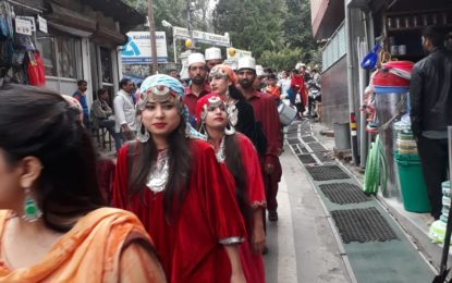 Sabha Yatra during Harela Mahotsav-2018 organised by NZCC at Nainital.