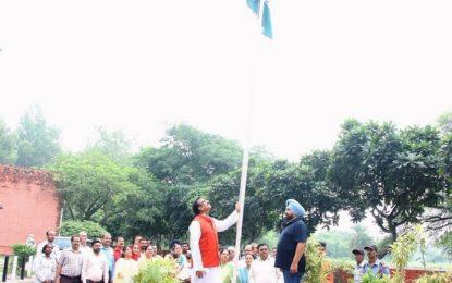 Celebration of Independence Day at Kalagram, Manimajra, Chandigarh
