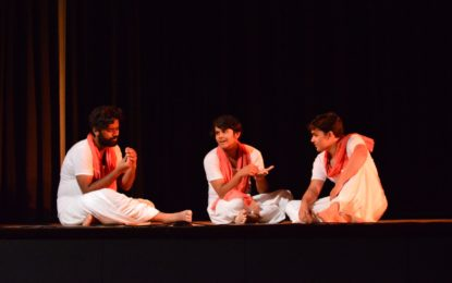 Day -2 of Mushi Prem Chand Theatre Festival being organised by NZCC at Patiala.