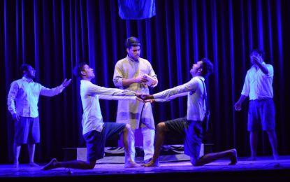 Day-4(04/09/2018) of Mushi prem Chand Theatre Festival being organised by NZCC at Patiala.