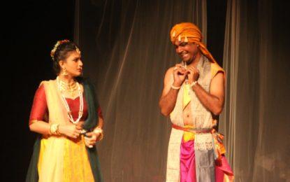 'Mrcchakatika' play organised by NZCC at Chandigarh.