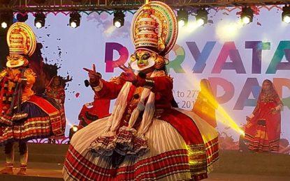 Day-2 of Paryatan Parv being organised at Rajpath Lawns, New Delhi
