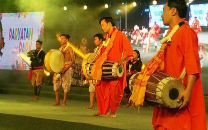 Day 5 of Paryatan Parv organised at Rajpath Lawns New Delhi