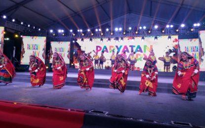 Glimpses of day 8 of Paryatan Parv organised at Rajpath Lawns, New Delhi