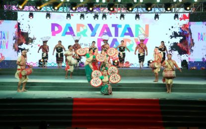 Day 9 of Paryatan Parv organised at Rajpath Lawns New Delhi