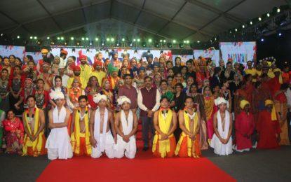 Closing Ceremony of Paryatan Parv organised at Rajpath Lawns, New Delhi