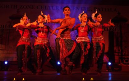 Day-3 of National Classical Dance Festival being organised by NZCC at Kalagram, Chandigarh.