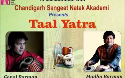 Taal Yatra to be organised by NZCC at Chandigarh