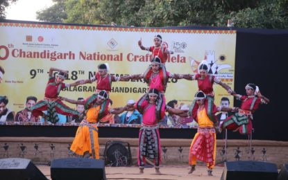 Day 7 of 10th Chandigarh National Crafts Mela being organised by NZCC at Chandigarh