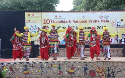 Day – 9 of 10th Chandigarh National Crafts Mela being organised by NZCC at Chandigarh.