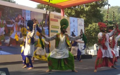 Inaugural day of Eat Right Mela being organised at IGNCA, New Delhi
