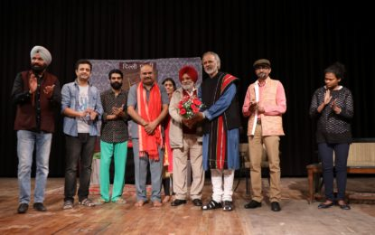 Day-2 of 5th Naurah Richards National Theatre Festival being organised by NZCC at Patiala.
