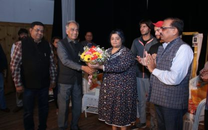 Inaugural Day of'Tricity Theatre Festival being organised by NZCC at Chandigarh