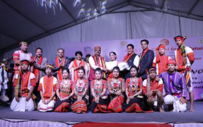 Glimpses of concluding day of Tribal Festival organised by NZCC from March 25 to 29, 2019 at Bilaspur Himachal Pradesh.