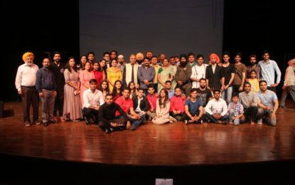 Play Jallianwala Bagh organised by NZCC at Chandigarh.